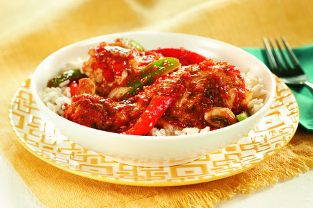 Chicken Cacciatore Dinner Menu