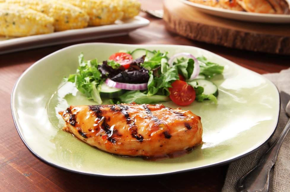 Easy BBQ Glazed Chicken