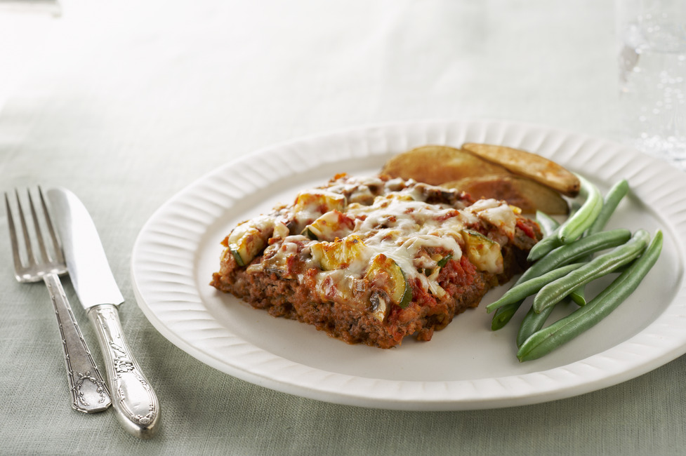 Easy Layered Italian Meatloaf Recipe
