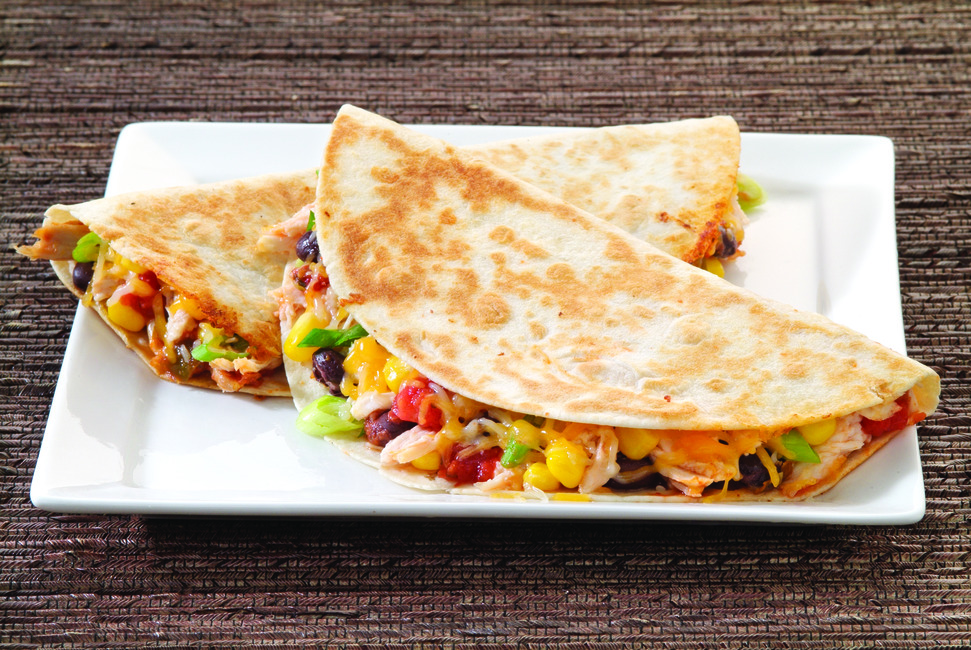 Mexican Chicken Quesadilla Recipe My Food And Family