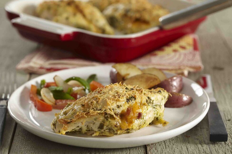 Bacon and Cheese Stuffed Chicken Breasts