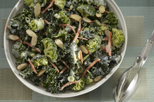 Creamy Kale and Broccoli Salad