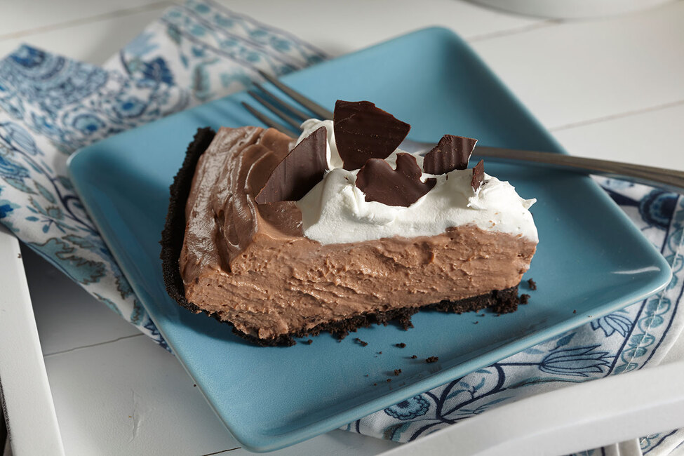 Creamy No-Bake Chocolate Pudding Cheesecake