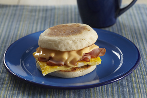 Freeze-Ahead Breakfast Sandwiches