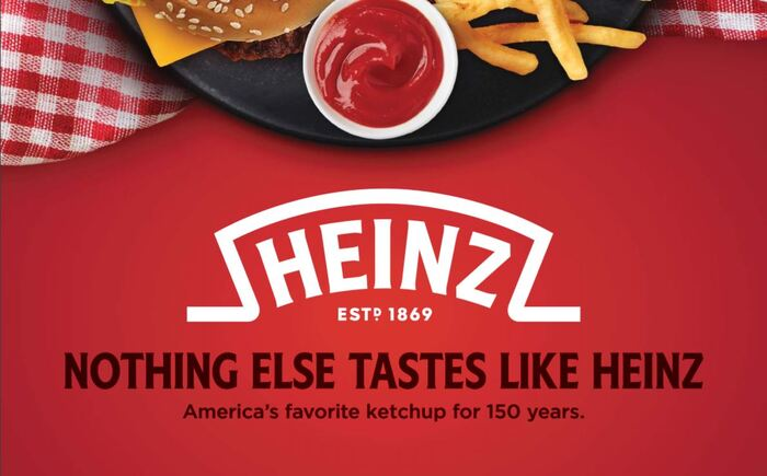 Heinz Ketchup Category Catalog