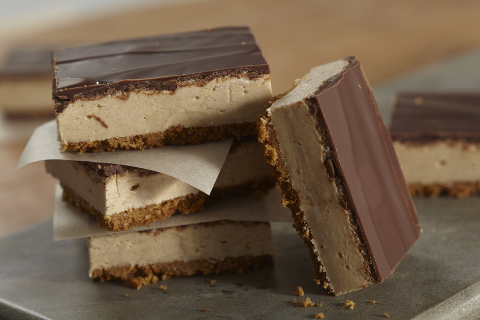 Peanut Butter-Cream Bars
