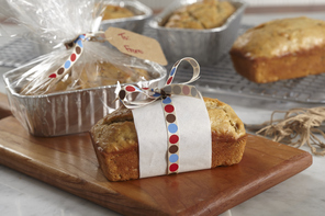 Sour Cream-Banana Mini Breads
