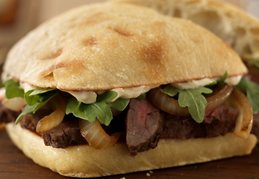 Grilled Steak Sandwich