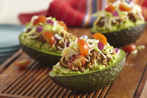 Taco-Stuffed Avocado