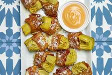 Bacon-Wrapped Artichokes