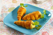 Egg Salad Crescent Roll Carrots