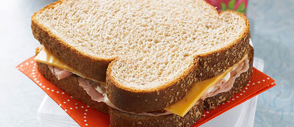 Freeze-Ahead Ham and Cheese Sandwiches