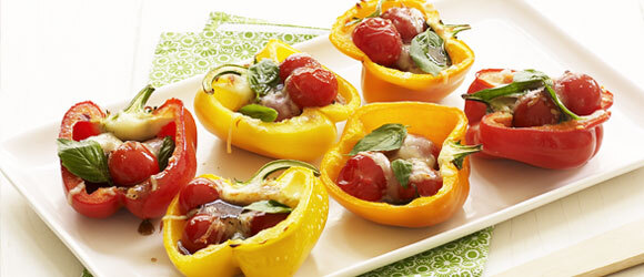 Grilled Summer Peppers