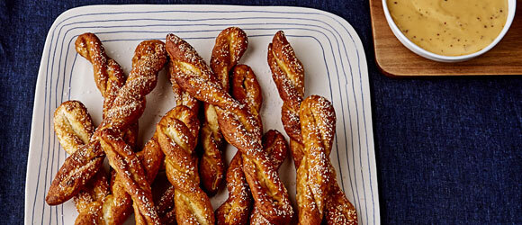 Homemade Pretzels with Beer-Cheese