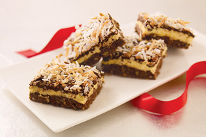 Layered Coconut-Chocolate Bars