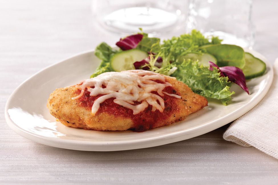 Crispy Chicken Parmesan Recipe My Food And Family