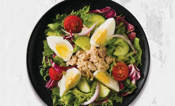 Classic Diner Salad with Ranch