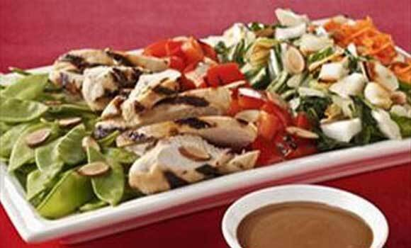 Asian-Style Cobb Salad with Sesame Grilled Chicken