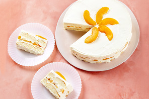 Banana-Peach Icebox Cake