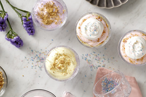 Easter Cheesecake Parfaits