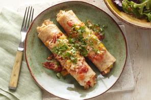 Fiesta Chicken Enchiladas Recipe