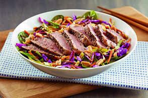 Asian Sesame Salad with Seared Tuna