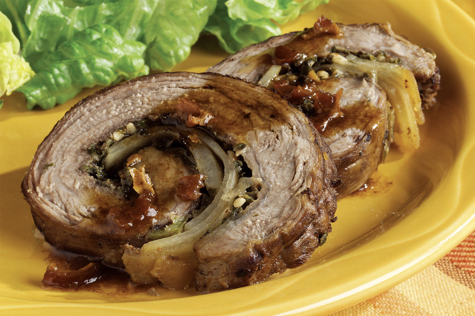Argentinean Stuffed Flank Steak