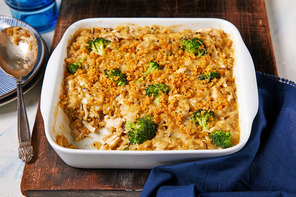 Broccoli, Chicken and Wild Rice Casserole