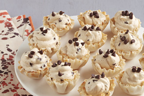 Peanut Butter-Chocolate Mousse Cups