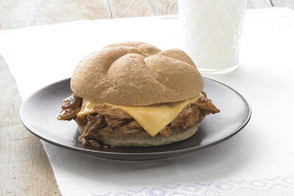 Hickory Slow-Cooker Pulled Pork Sandwiches