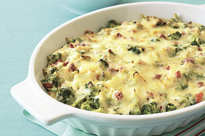 Zesty Hot Holiday Broccoli Dip