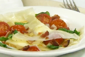 Italiano Ravioli with Two Sauces