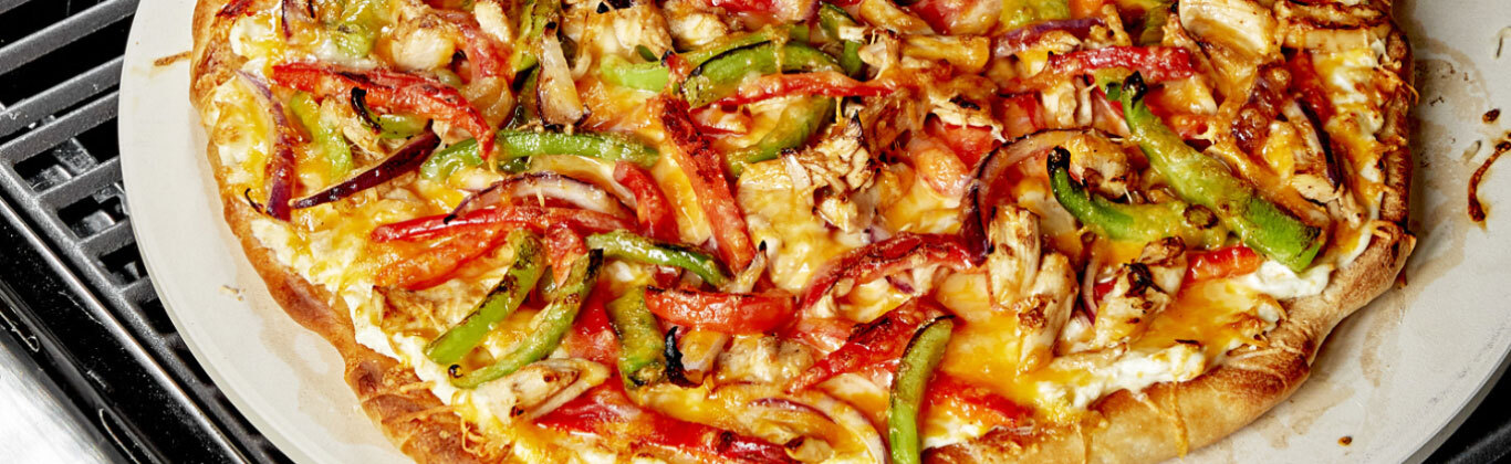 Grilled Chicken Fajita Pizza