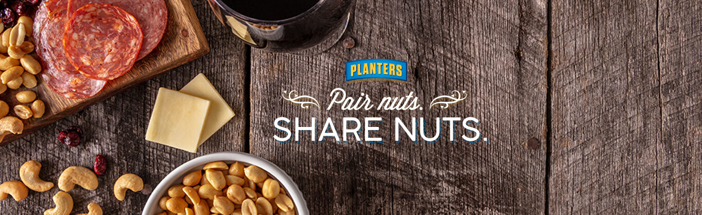 Pair Nuts. Share Nuts.