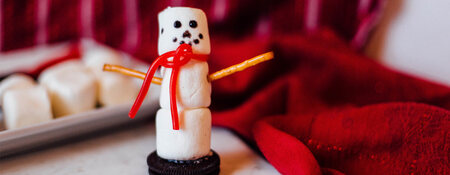 Kids Can Cook: JET-PUFFED Snowman