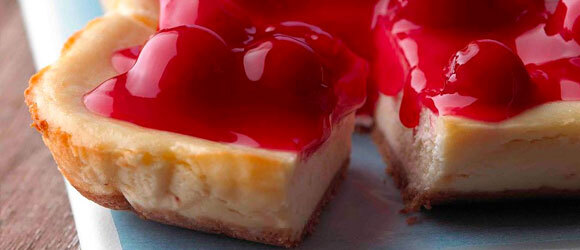PHILADELPHIA New York Cheesecake Bars