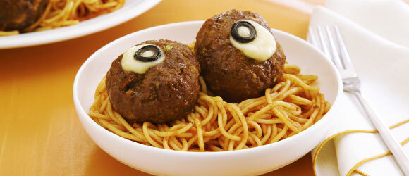 Spaghetti and 'Eyeballs'