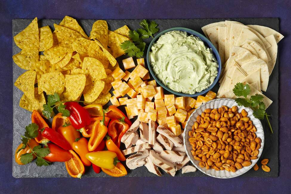 Taco-Cheese Board