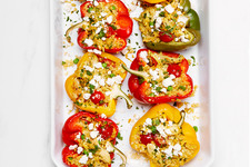 Turmeric-Chicken Stuffed Peppers